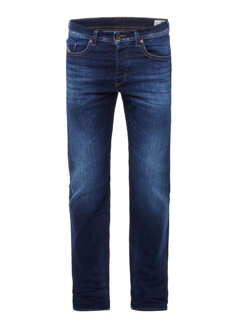 Diesel Buster slim fit tapered jeans met faded look 0860L