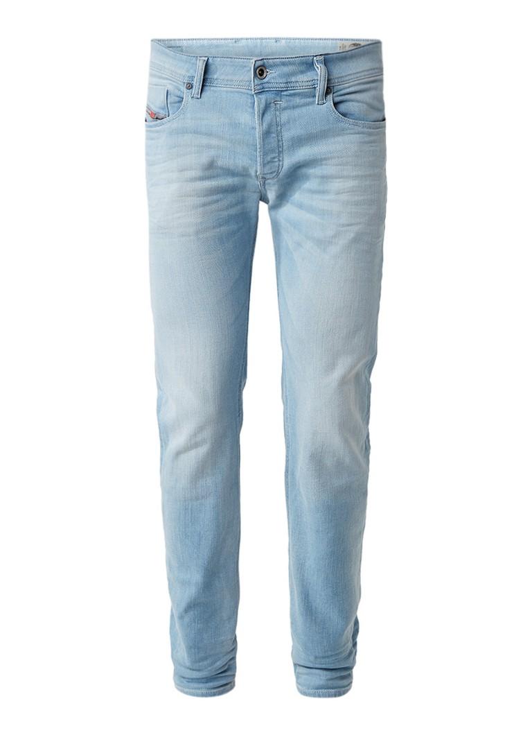 Diesel Sleenker slim fit skinny jeans met lichte wassing 084EB