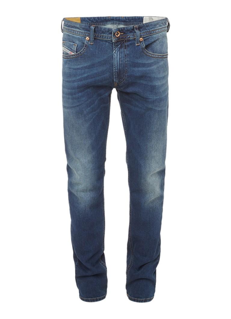 Diesel Thommer skinny fit low waist jeans met faded look 084BU