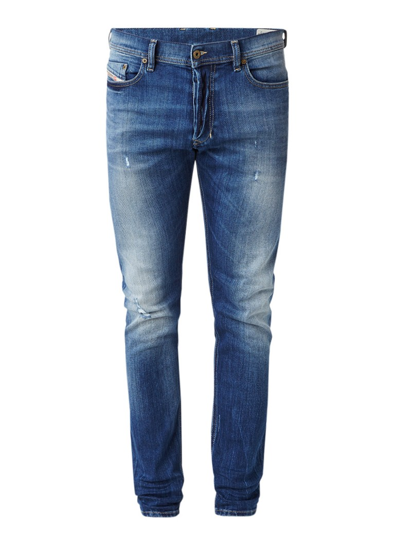 Diesel Tepphar slim-carrot fit jeans met stretch 084GG
