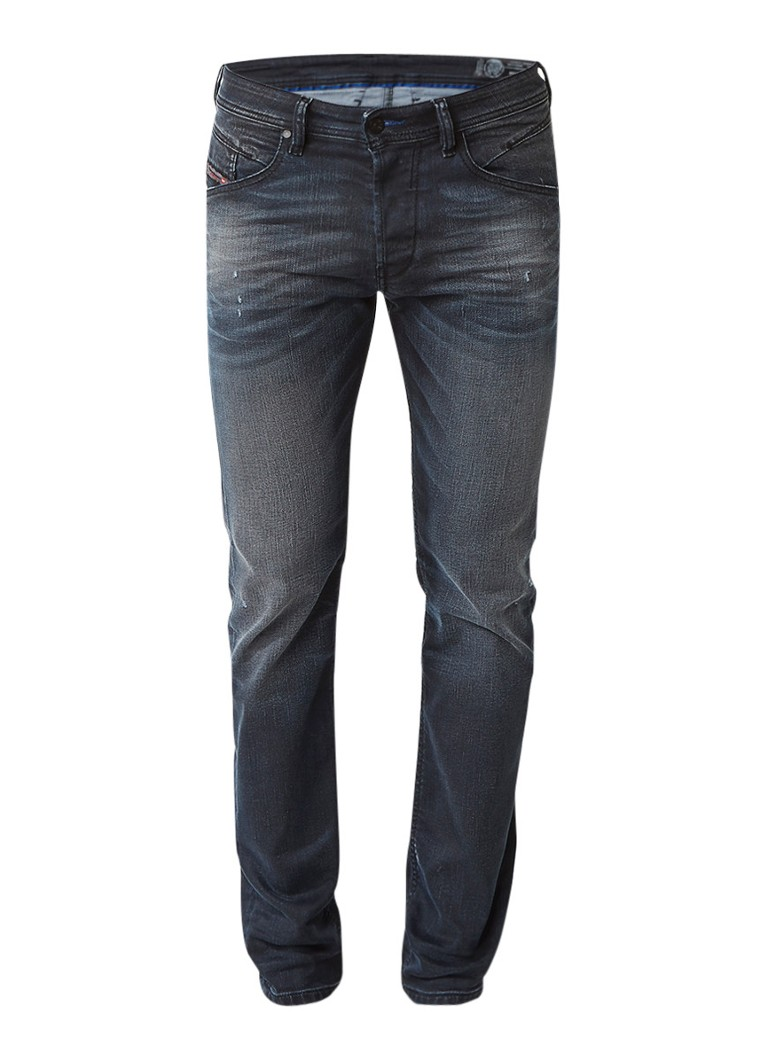 Diesel Belther regular slim-tapered fit jeans 0684P