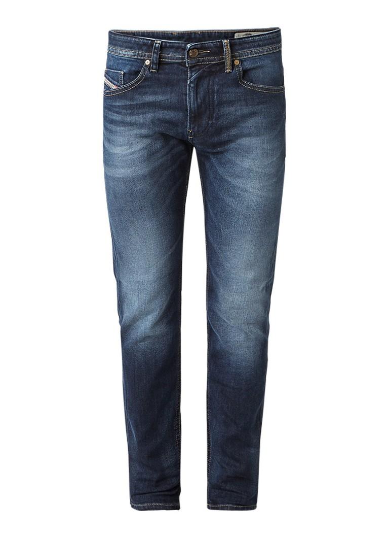 Diesel Thommer mid rise skinny jeans met stretch 084KW