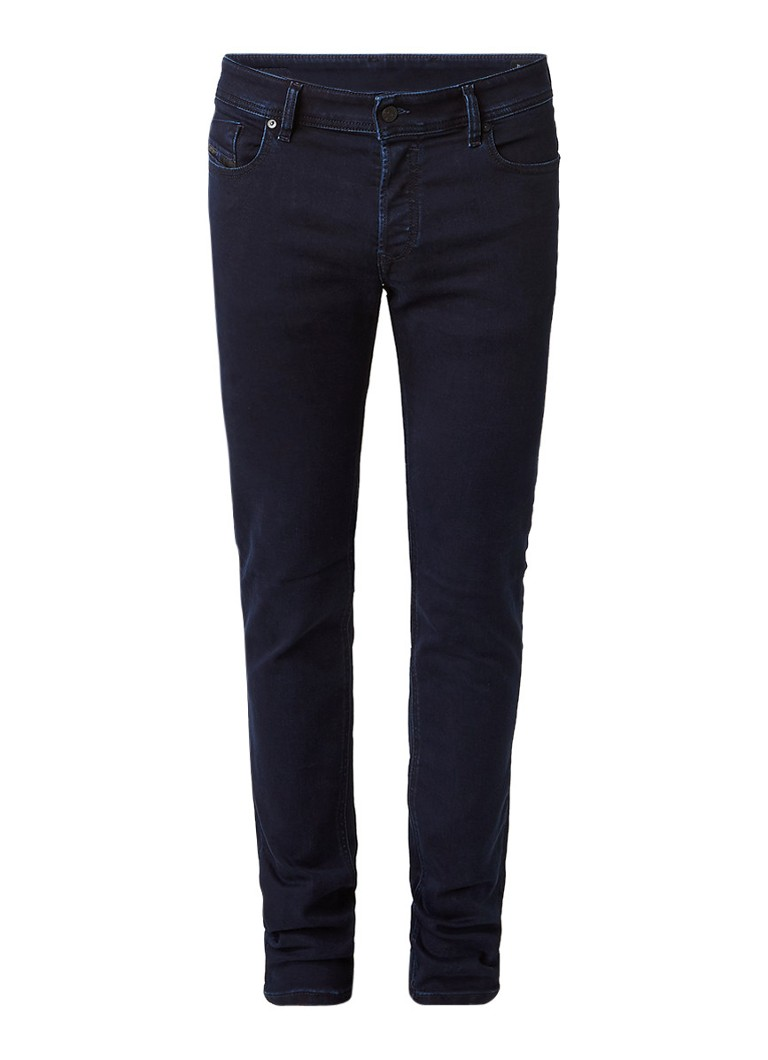 Diesel Sleenker slim skinny jeans met stretch 084KE