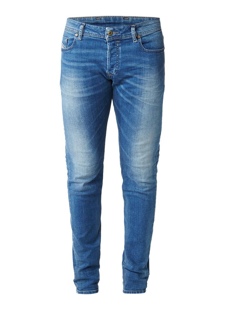 Diesel Sleenker slim skinny jeans met stretch 084HD