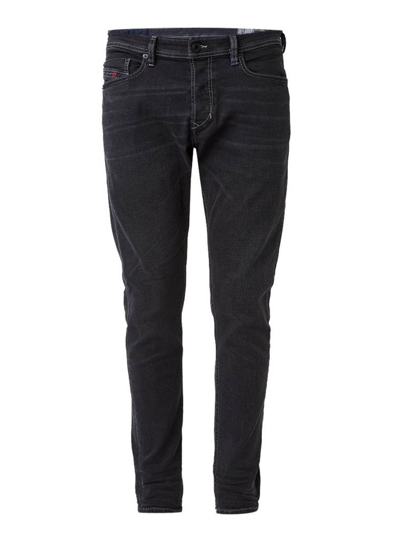 Diesel Tepphar slim fit jeans in donkere wassing