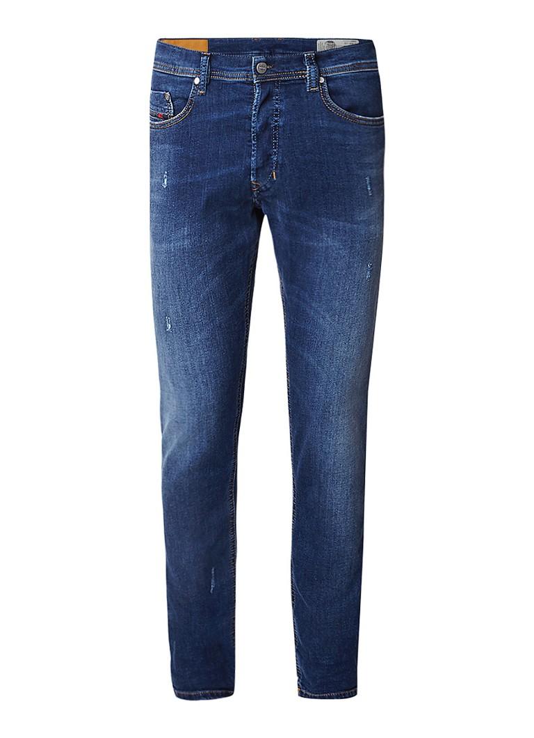 Diesel Tepphar mid rise slim carrot fit jeans