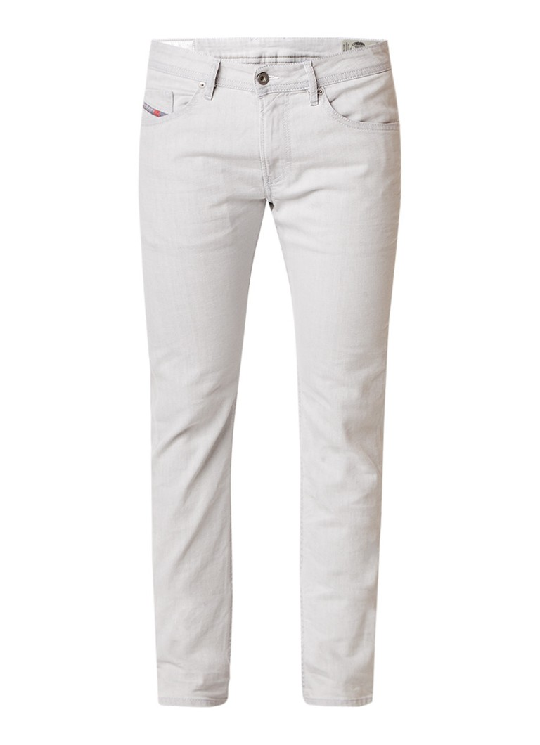 Diesel Thommer mid rise skinny fit jeans met stretch 0689F