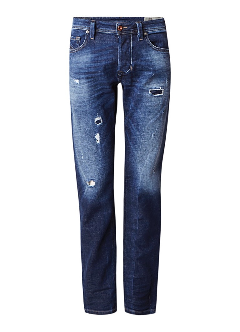 Diesel Larkee-Beex mid rise regular-tapered fit jeans 084QT
