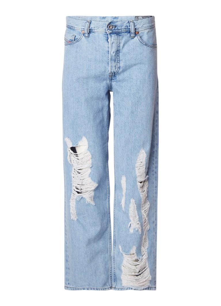 Diesel Dagh regular-slim fit destroyed jeans 084PK