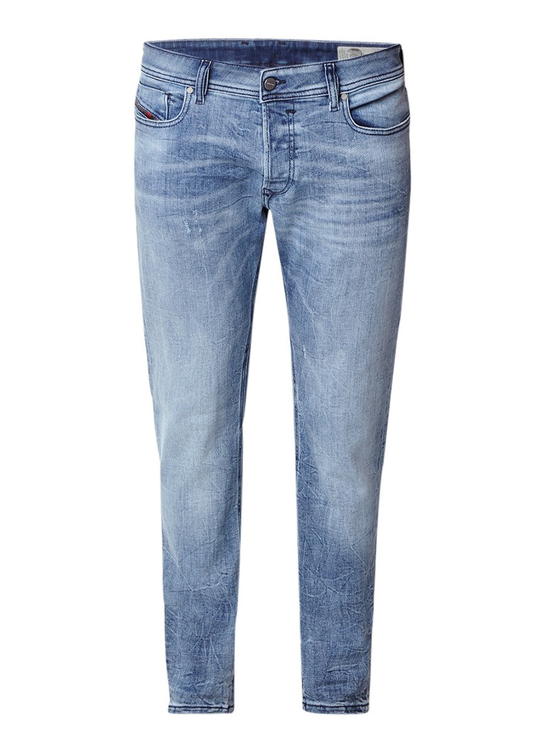 Diesel Sleenker slim-skinny jeans met faded look 084QL