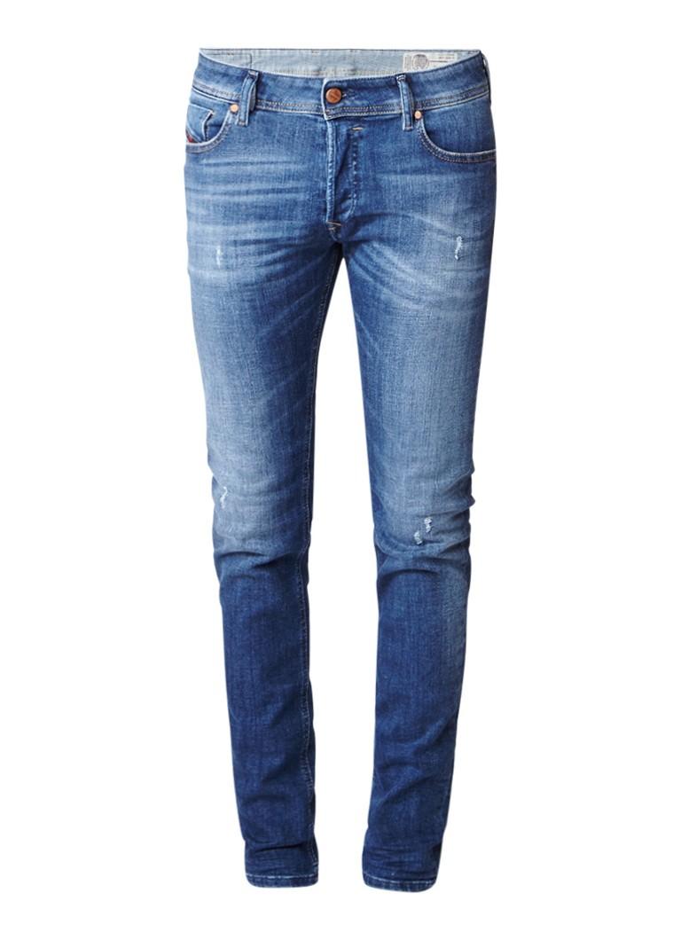Diesel Sleenker slim skinny jeansmet stretch 084QJ
