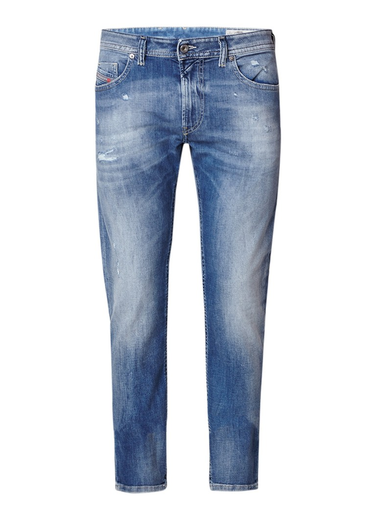 Diesel Thommer slim-skinny jeans met faded look 084QP