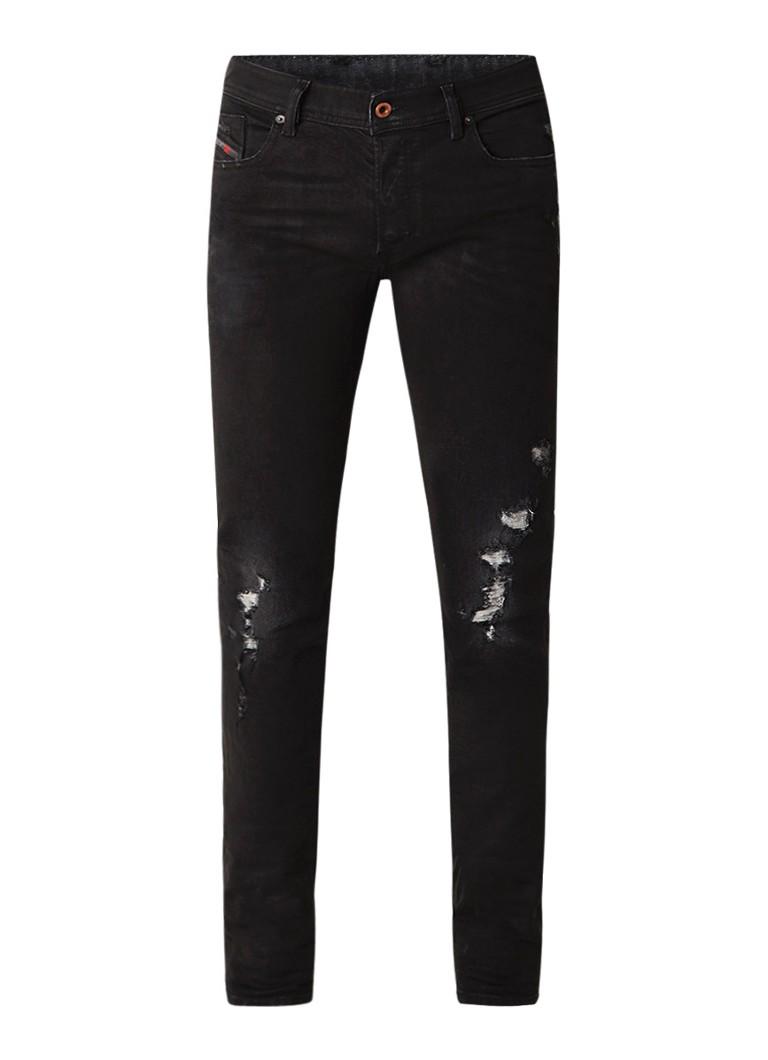 Diesel Sleenker slim skinny fit jeans van lyocell met stretch