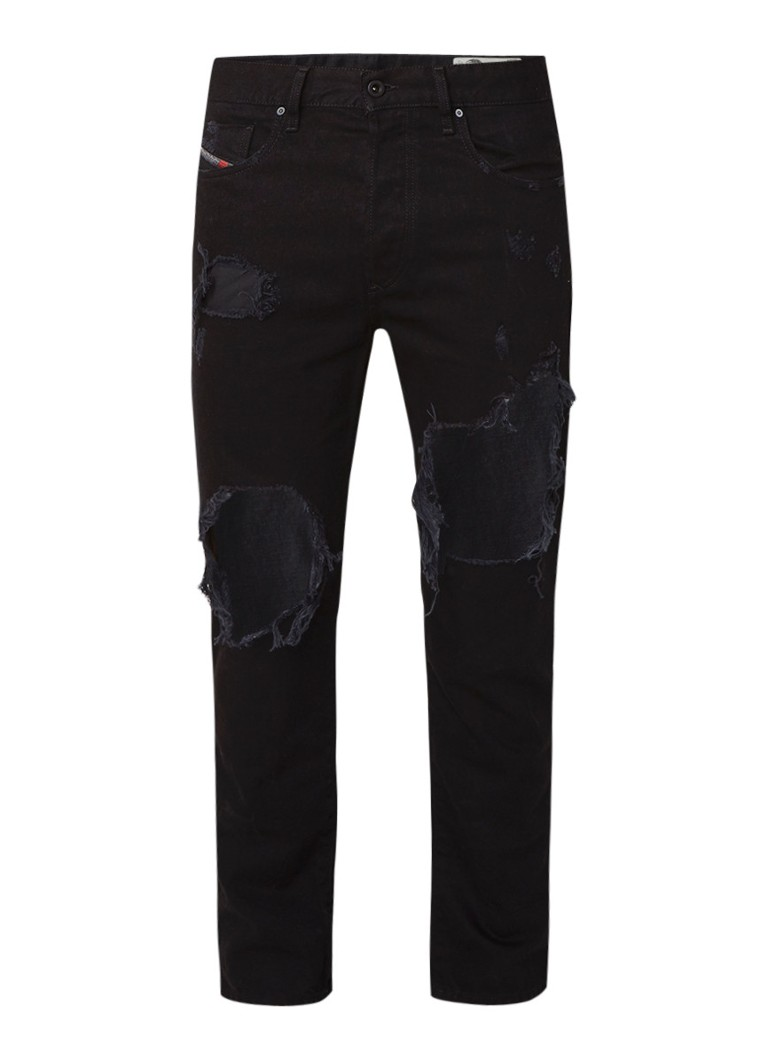 Diesel Mharky slim fit destroyed jeans 0076M