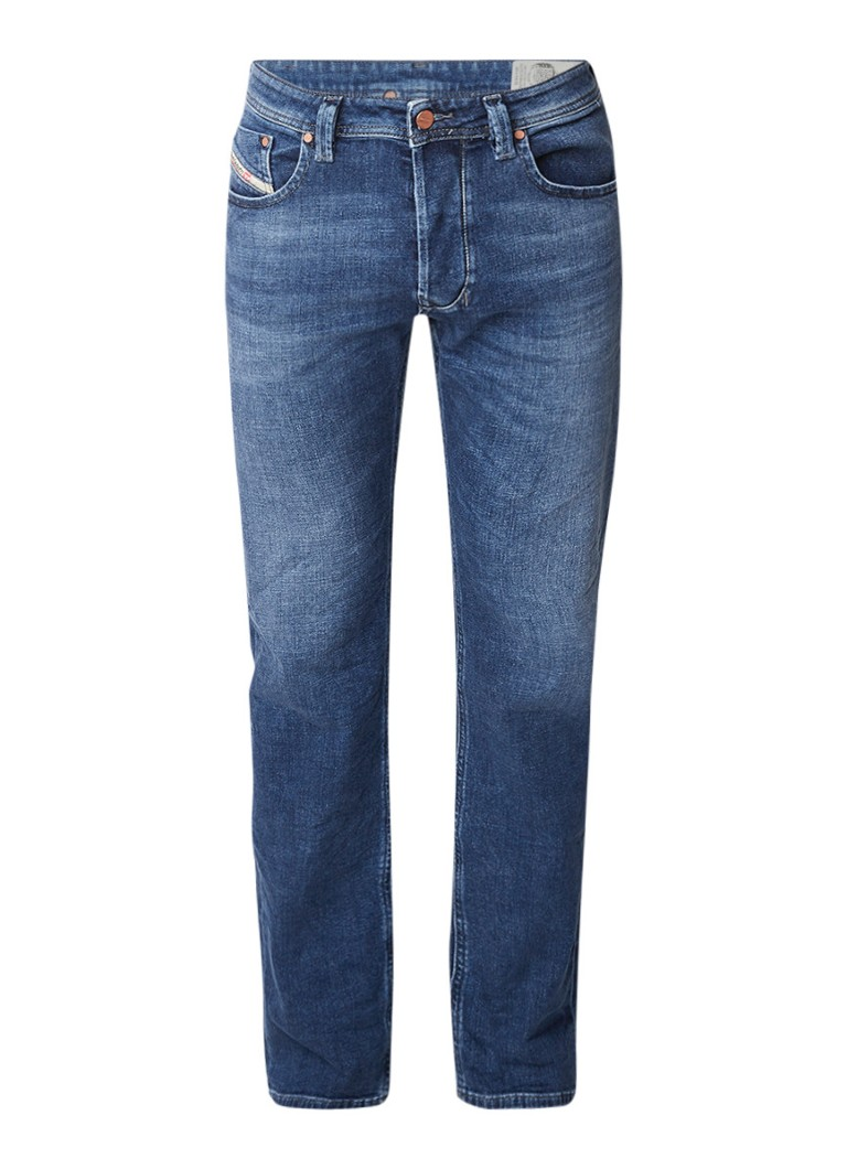 Diesel Larkee straight fit jeans met stretch