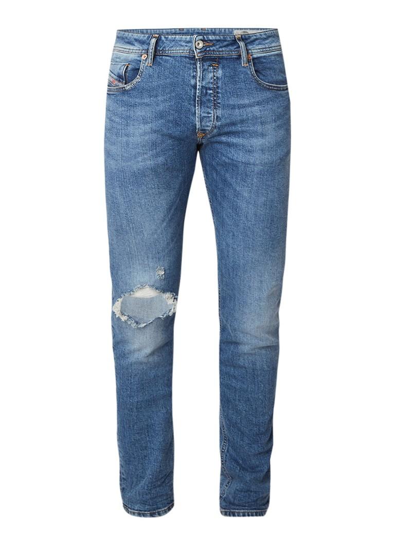 Diesel Sleenker slim skinny jeans met stretch 069AI
