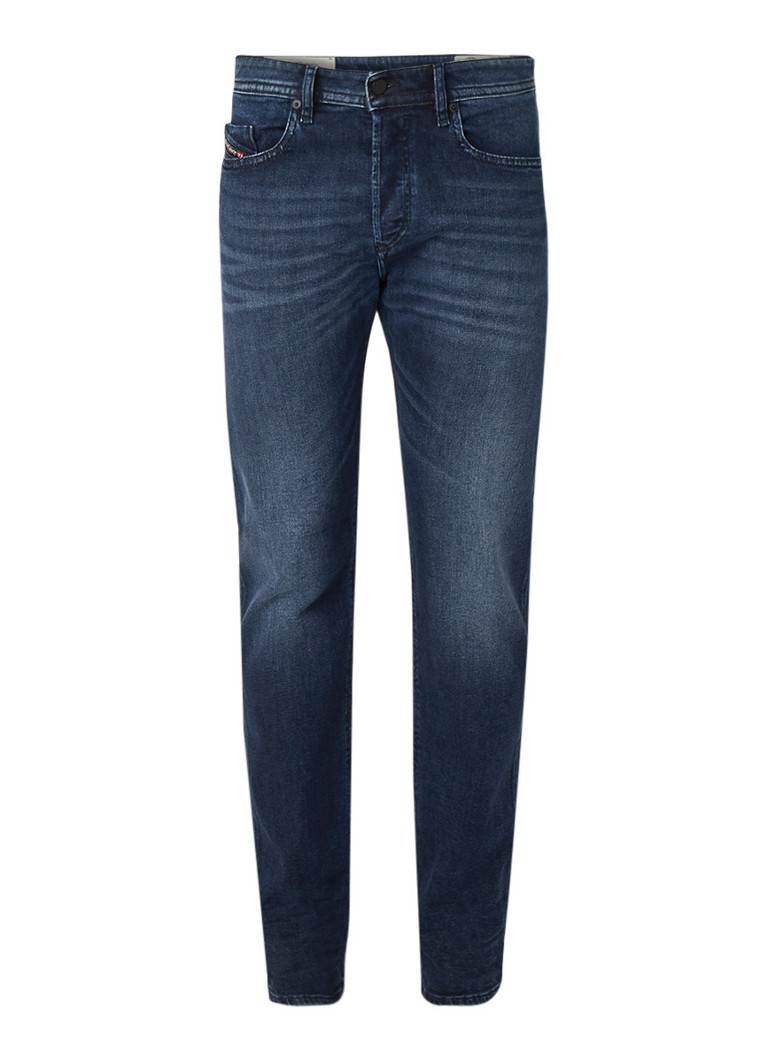 Diesel Buster mid rise tapered fit jeans