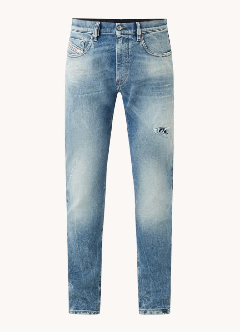 Diesel D-Strukt slim fit jeans met ripped details