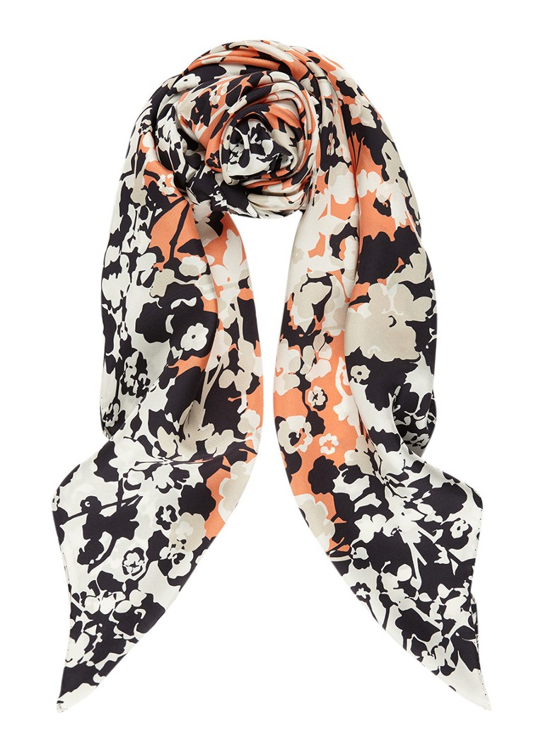 HUGO BOSS Sjaal van zijde 120 x 120 cm