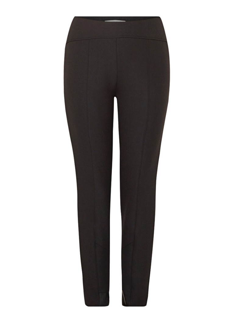 HUGO BOSS Tileta slim fit cropped pantalon met siernaden