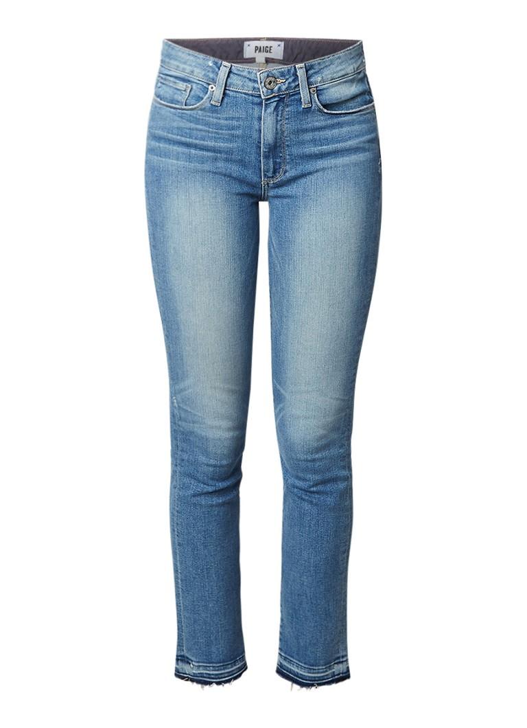 Paige Hoxton skinny fit jeans met gerafelde zoom