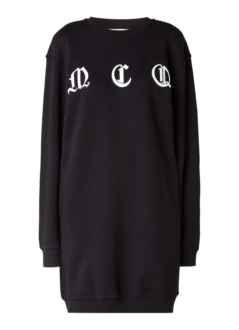 McQ Alexander McQueen Sweaterjurk met logoprint