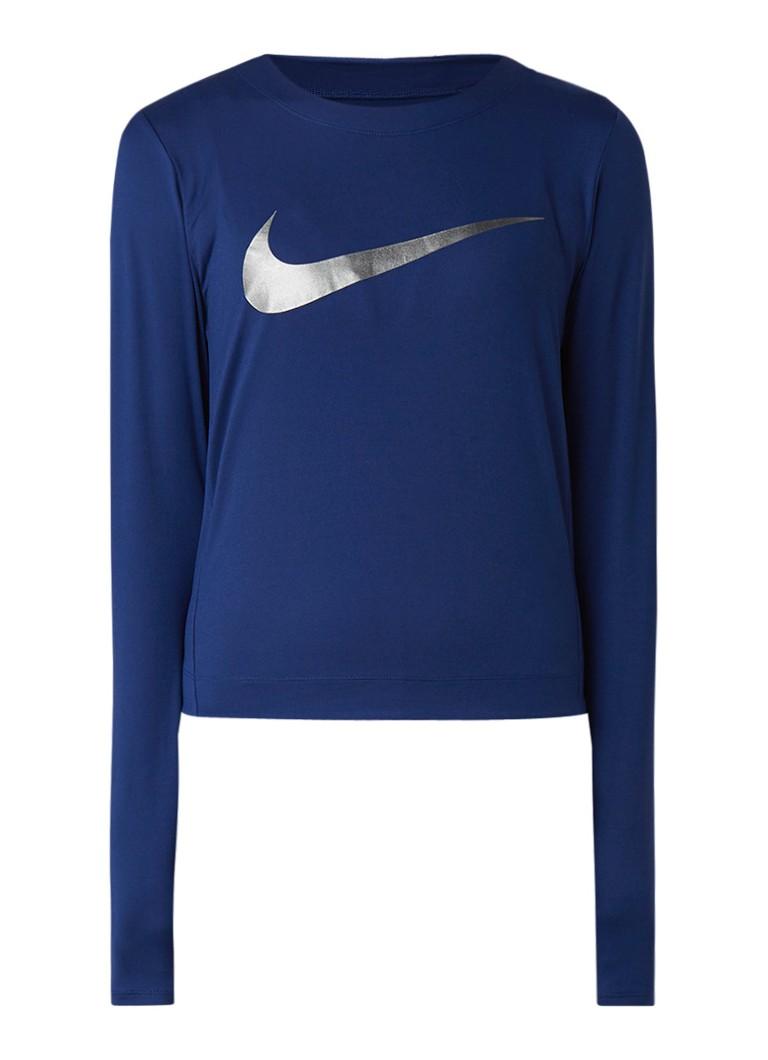 Image of Nike Trainingstop met logoprint en Dri-FIT