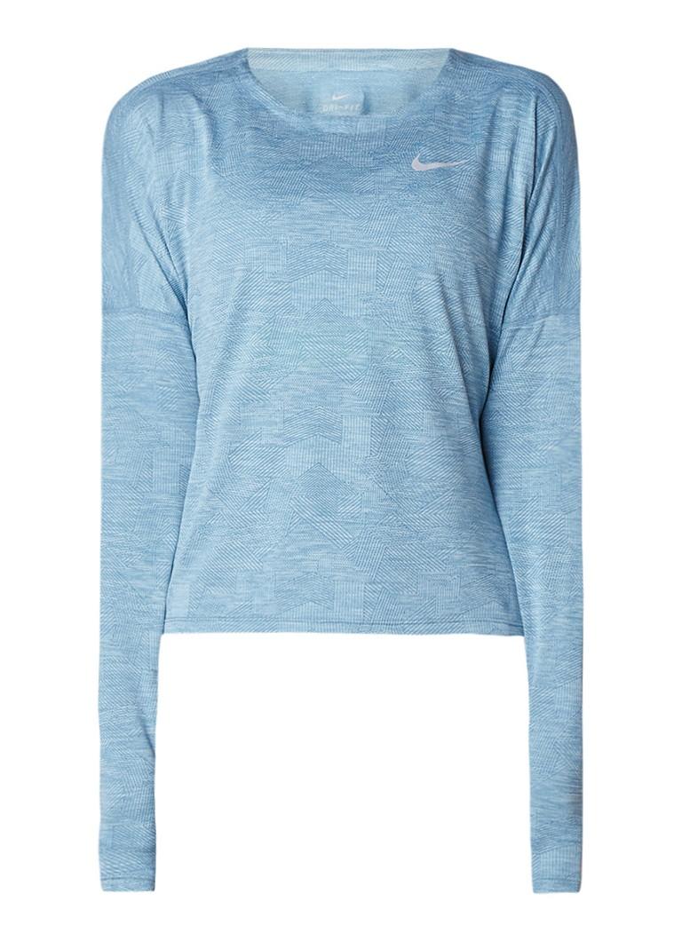 Nike Trainings longsleeve met Dri-Fit