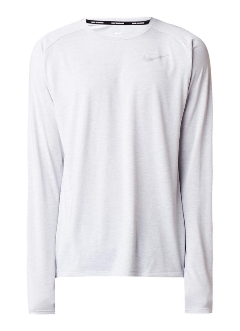 Nike Dri-FIT trainingstop met raglanmouw en logo opdruk