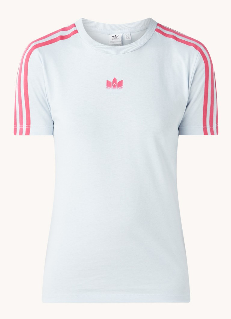 3 Stripes trainings T shirt met logo