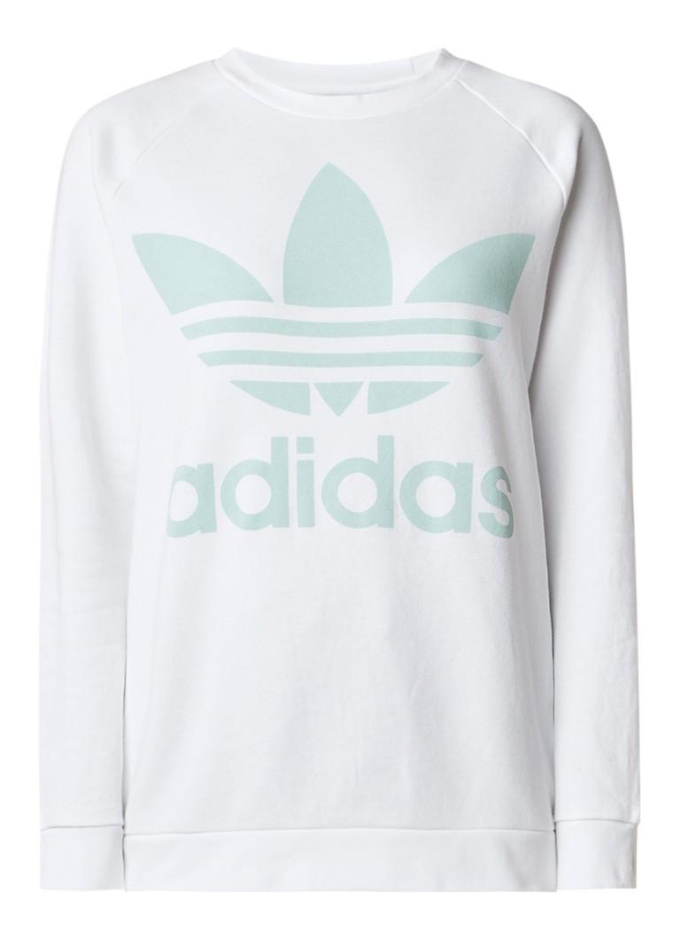Image of adidas adicolor Oversized sweater met logoprint