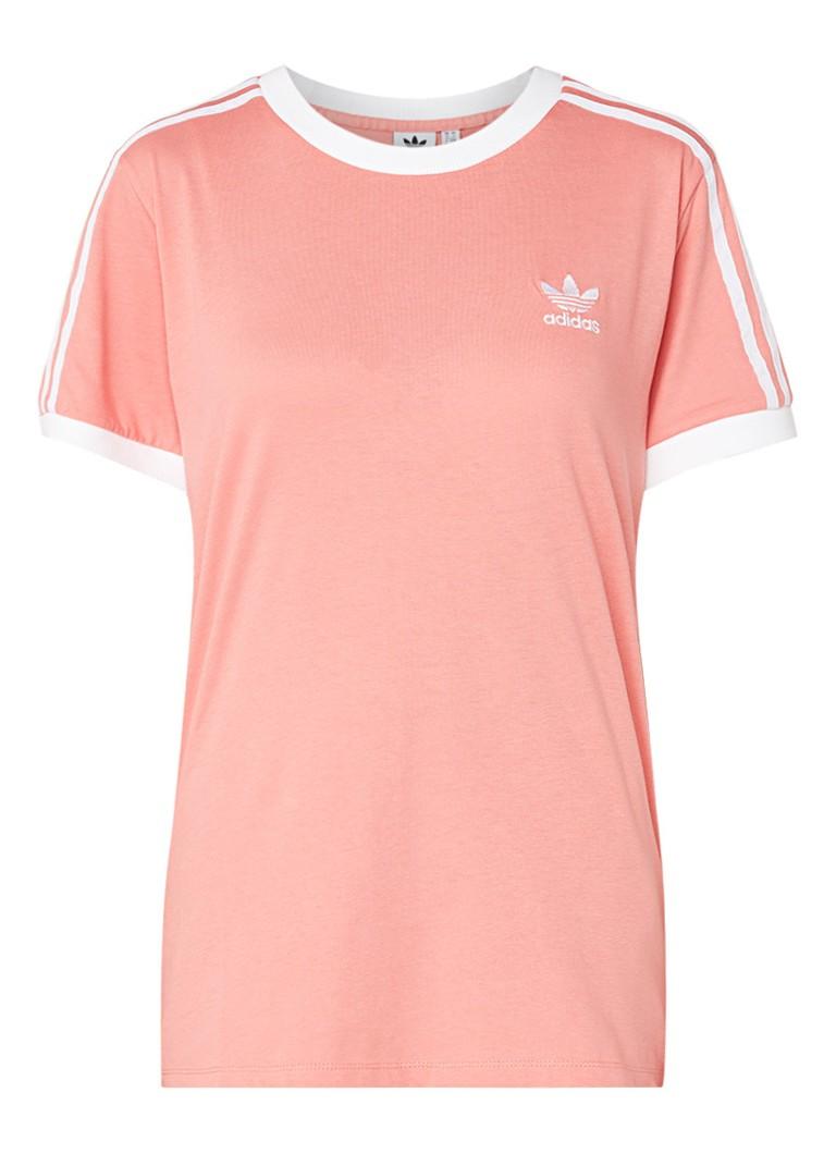 adidas Oversized T-shirt met ribgebreide boorden en logoborduring