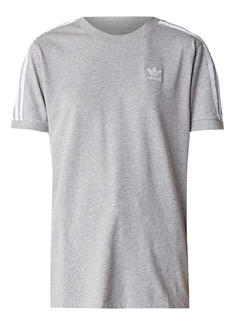 adidas Gemeleerd T-shirt met streepdessin