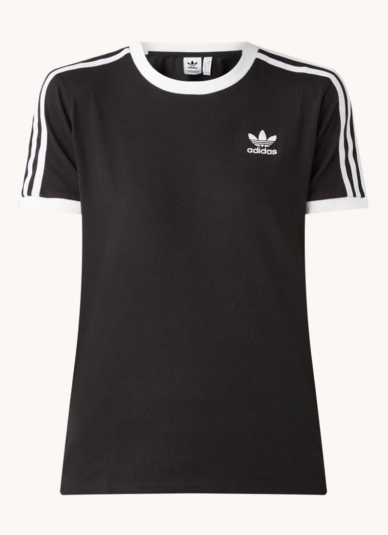 3 Stripes T shirt met logo