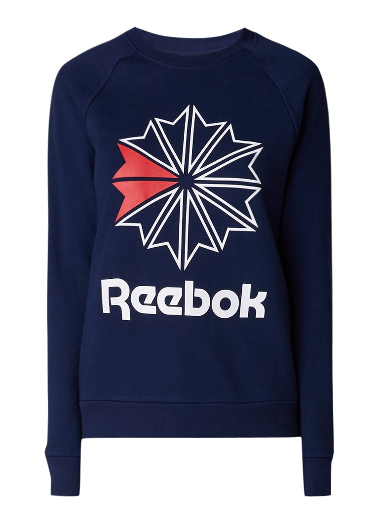 Reebok Starcrest sweater met logoprint