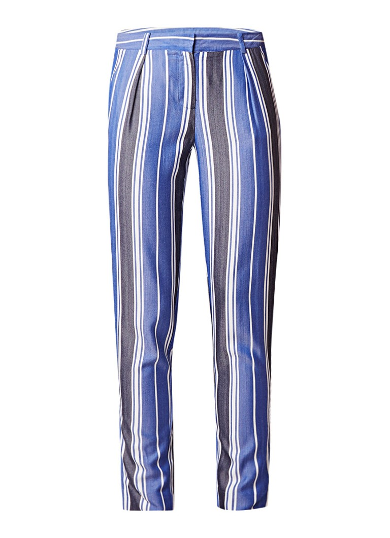 SuperTrash Patrick Stripe slim fit pantalon met streepdessin