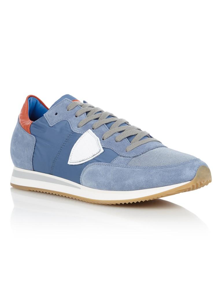 Philippe Model herensneaker blauw
