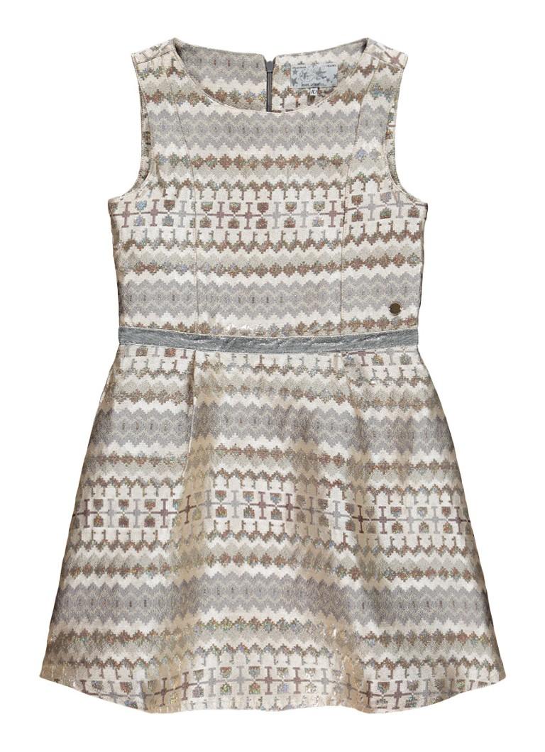 Vingino Parker A-lijn jurk met lurex