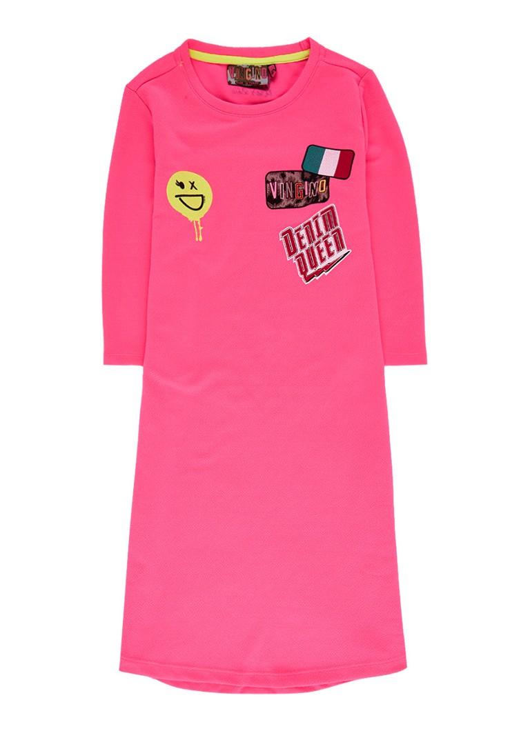 Vingino Palora jurk van jersey met print