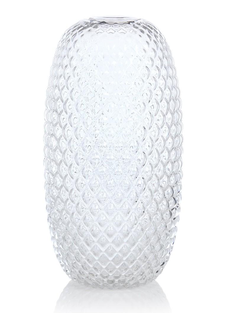 FEST Amsterdam Facet vaas van glas 40 cm