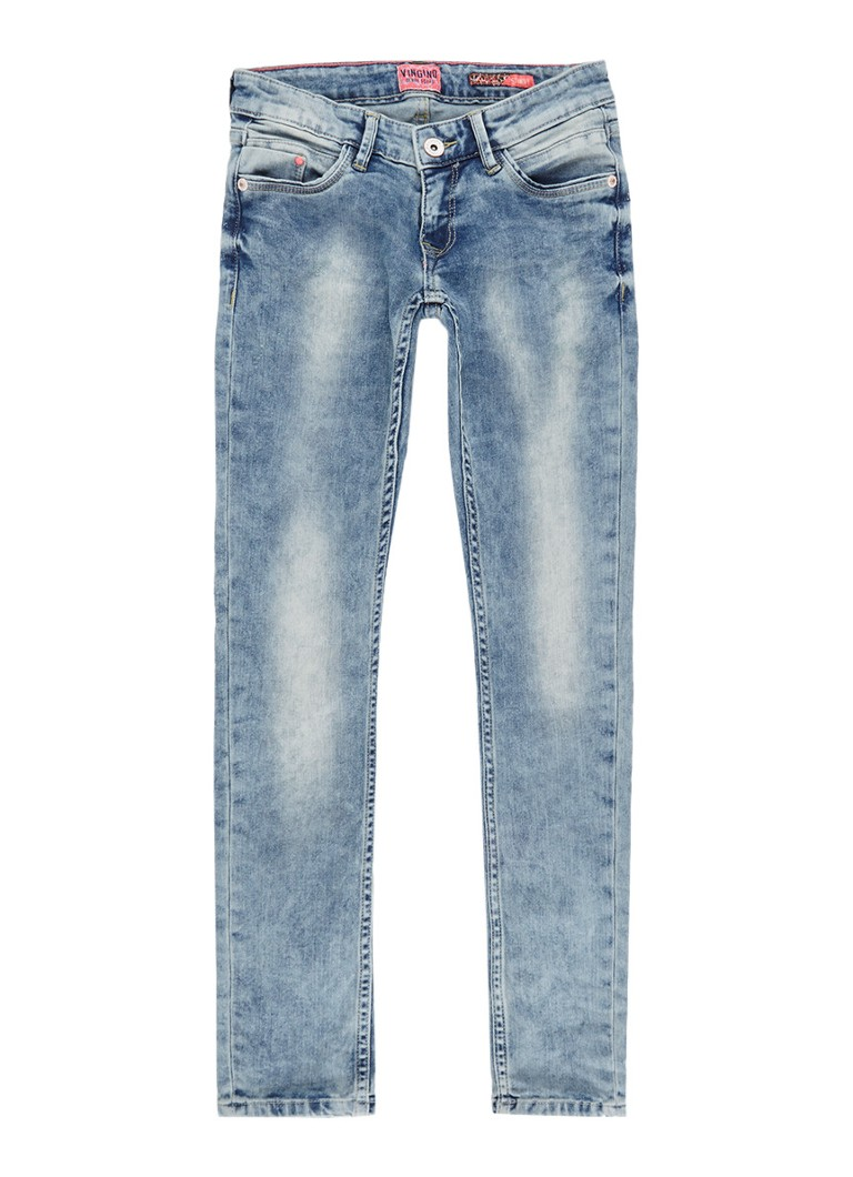 Vingino Alexis skinny fit jeans in lichte wassing