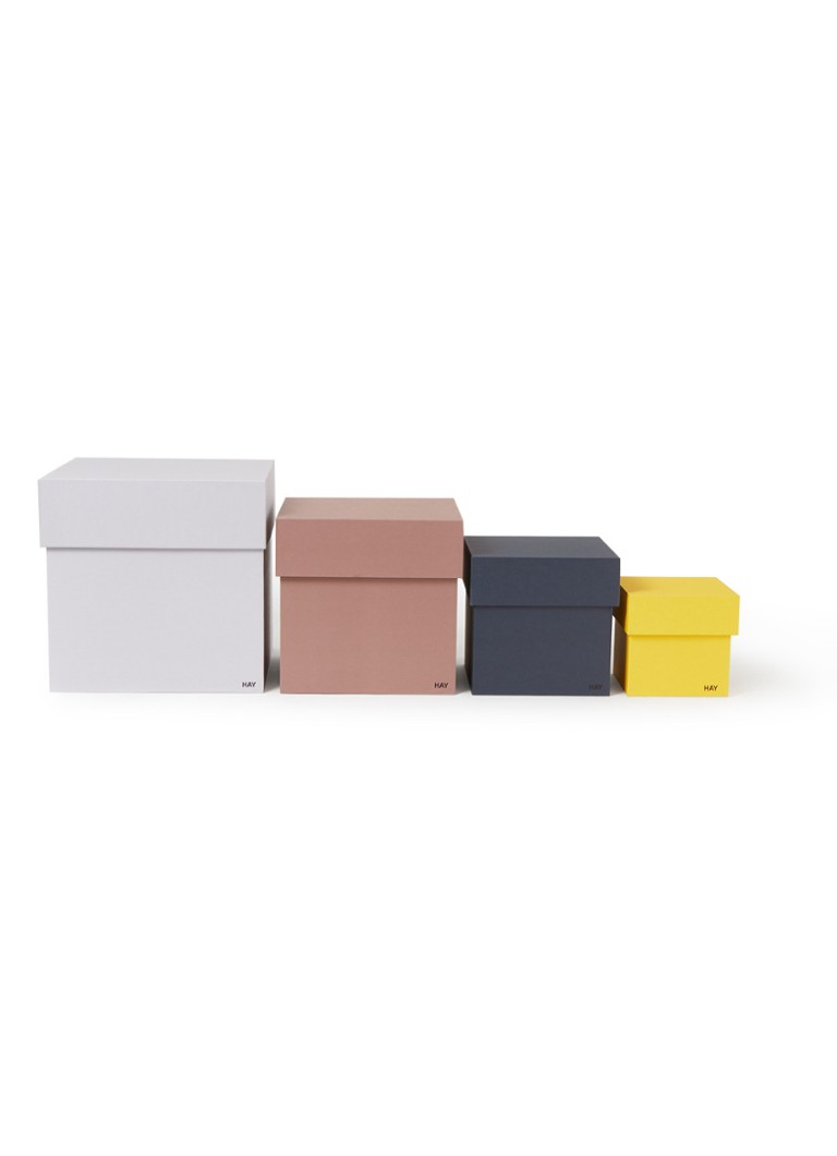 Box Box opbergdoos set van 4