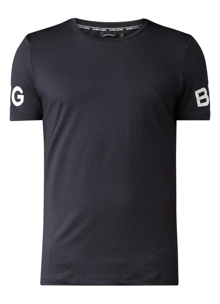 Björn Borg Palmer Performance T-shirt met logoprint