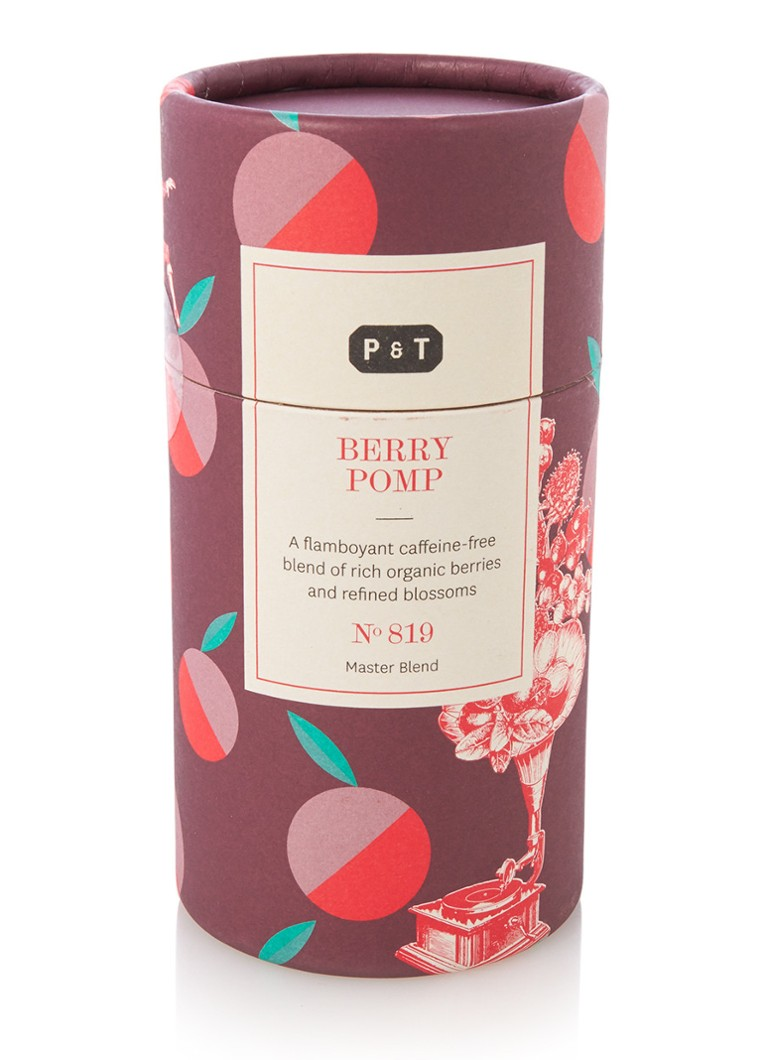 P  and  T Berry Pomp losse thee 100 gram