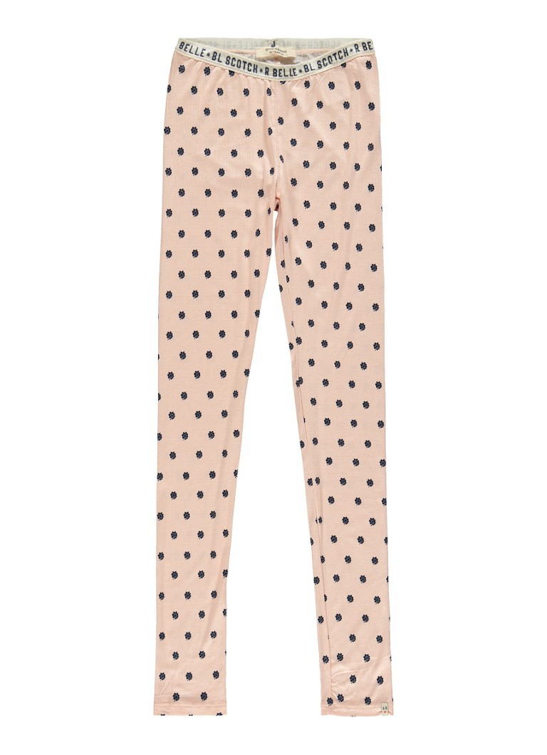 Scotch R Belle Legging met allover