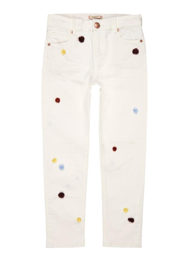 Scotch R'Belle Petit Ami boyfriend fit jeans met pompon