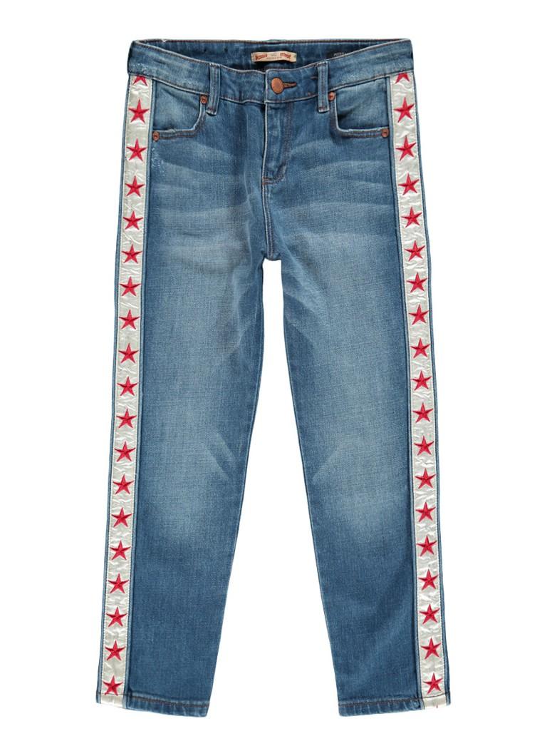 Scotch R'Belle Petit Ami 5-pocket regular fit jeans met