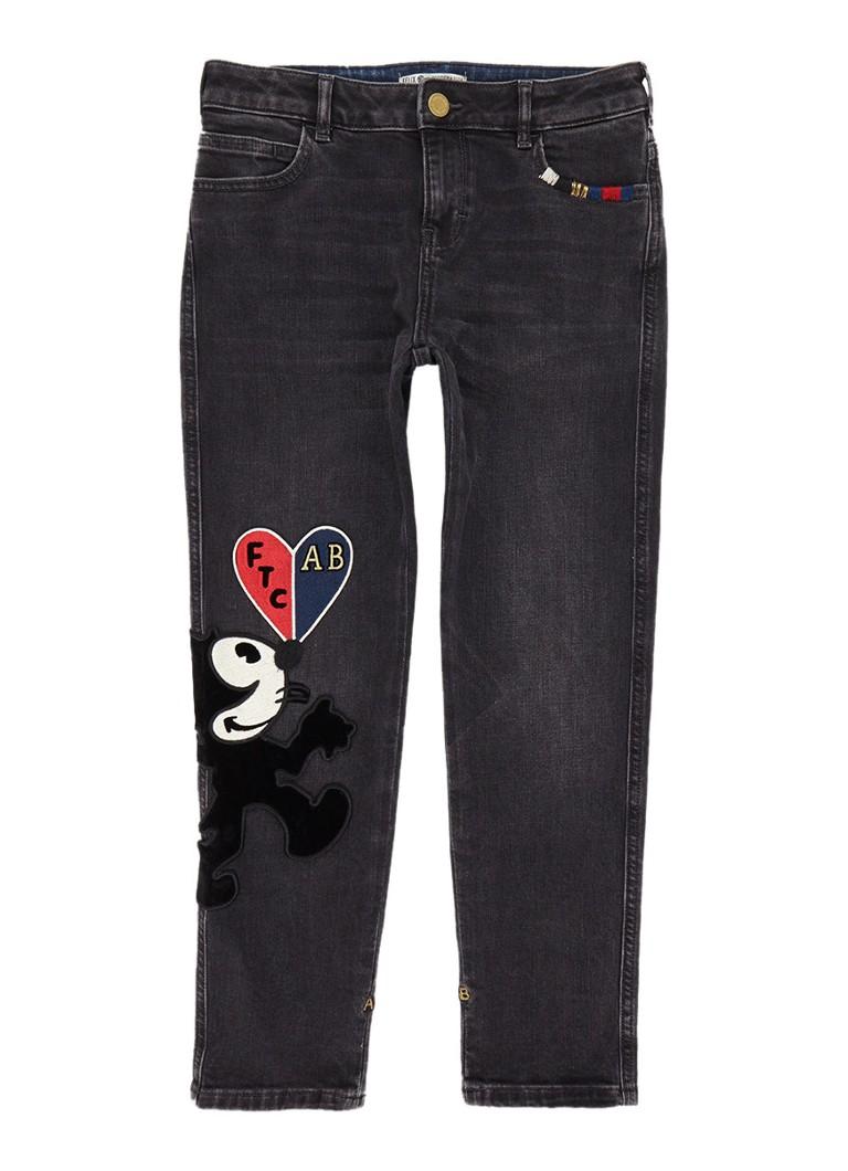 Scotch R'Belle Felix petit ami boyfriend fit jeans met patches