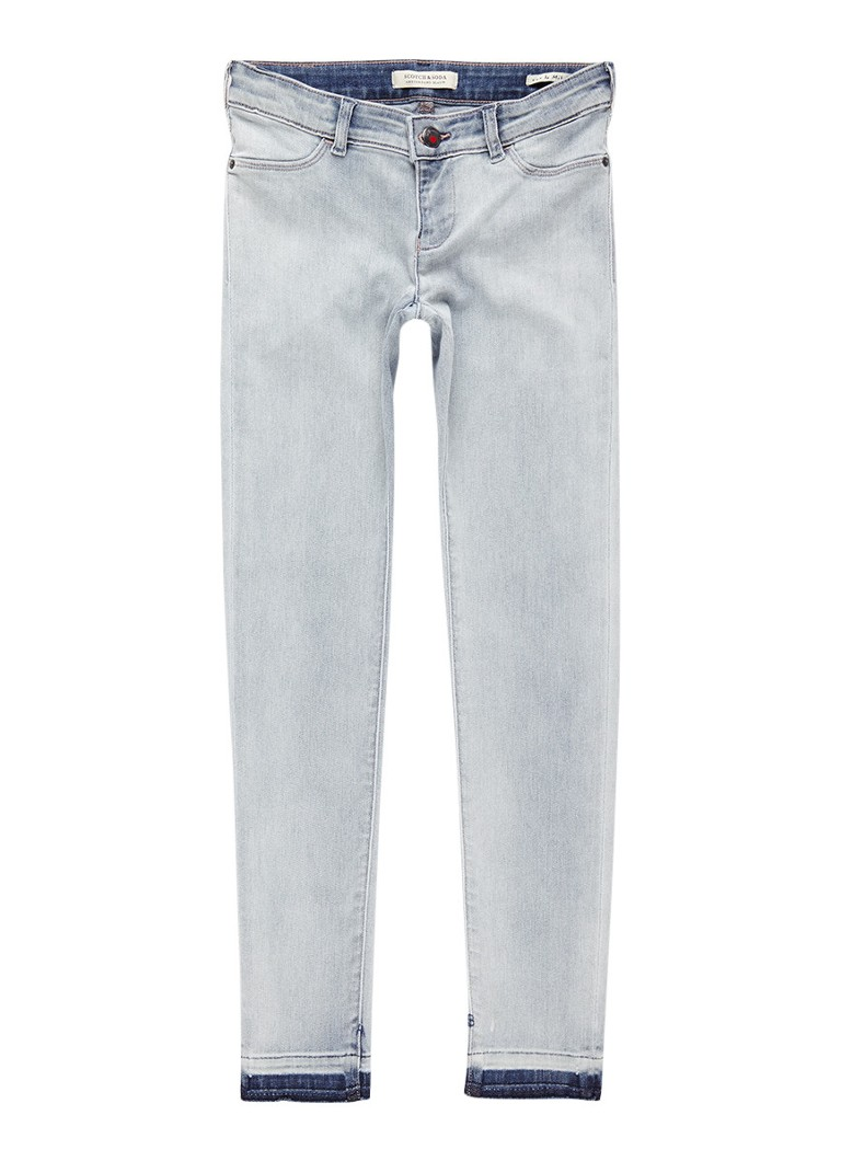 Scotch R'Belle La Milou super skinny fit jeans met verwassen look