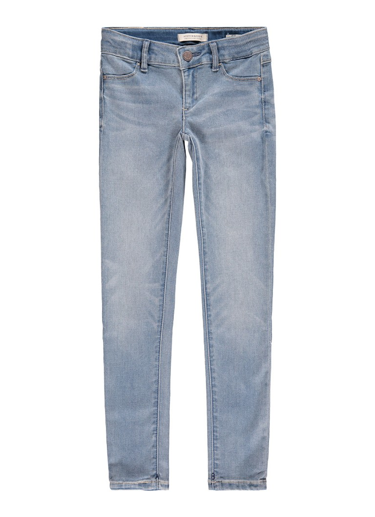 Scotch R'Belle La Milou super skinny fit jeans met lichte wassing